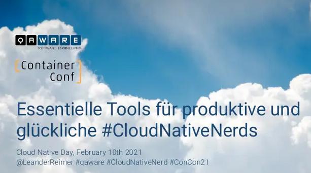 Essentielle Tools für CloudNativeNerds